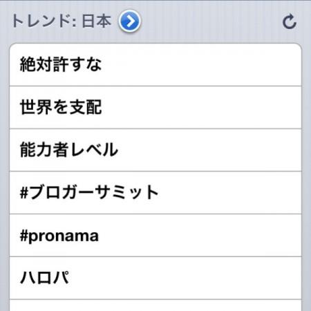 #ブロガーサミット がトレンドに入ってる on Twitpic