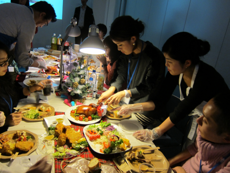 ローソン アンバサダープログラム「おウチでクリスマス☆プレパーティー」を開催しました!