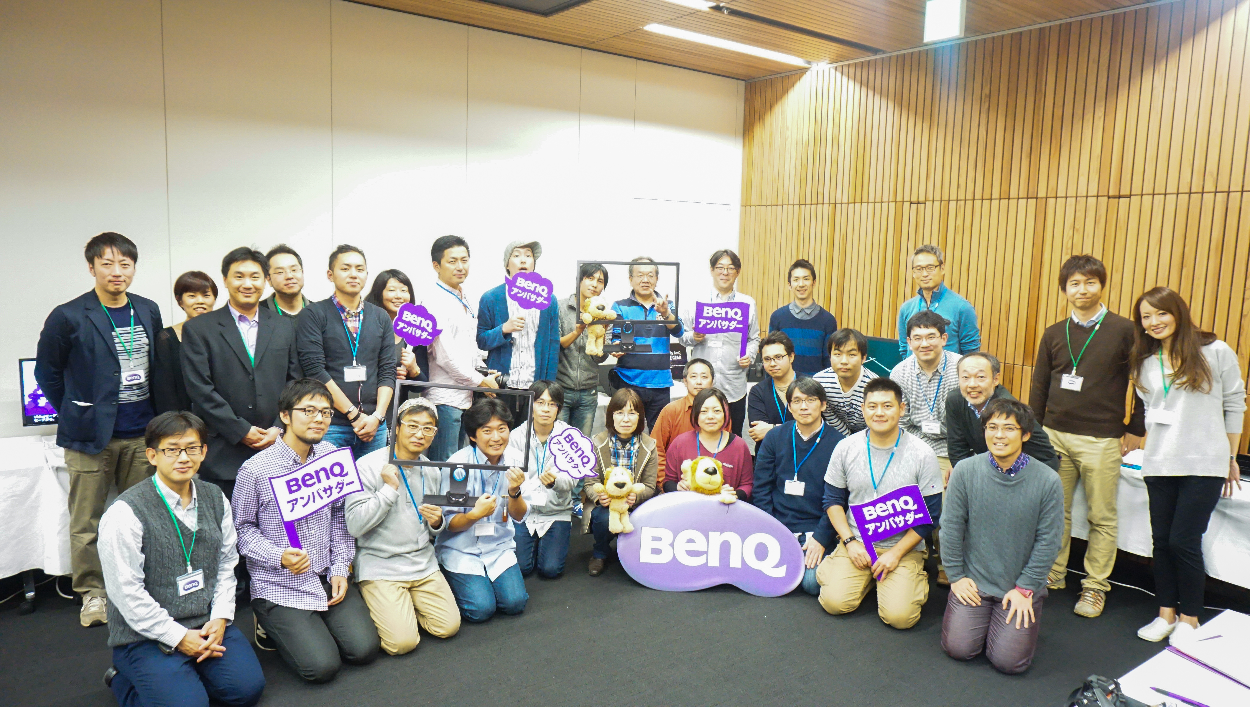 BenQアンバサダー活動報告『第1回BenQアンバサダーイベント』を開催しました。