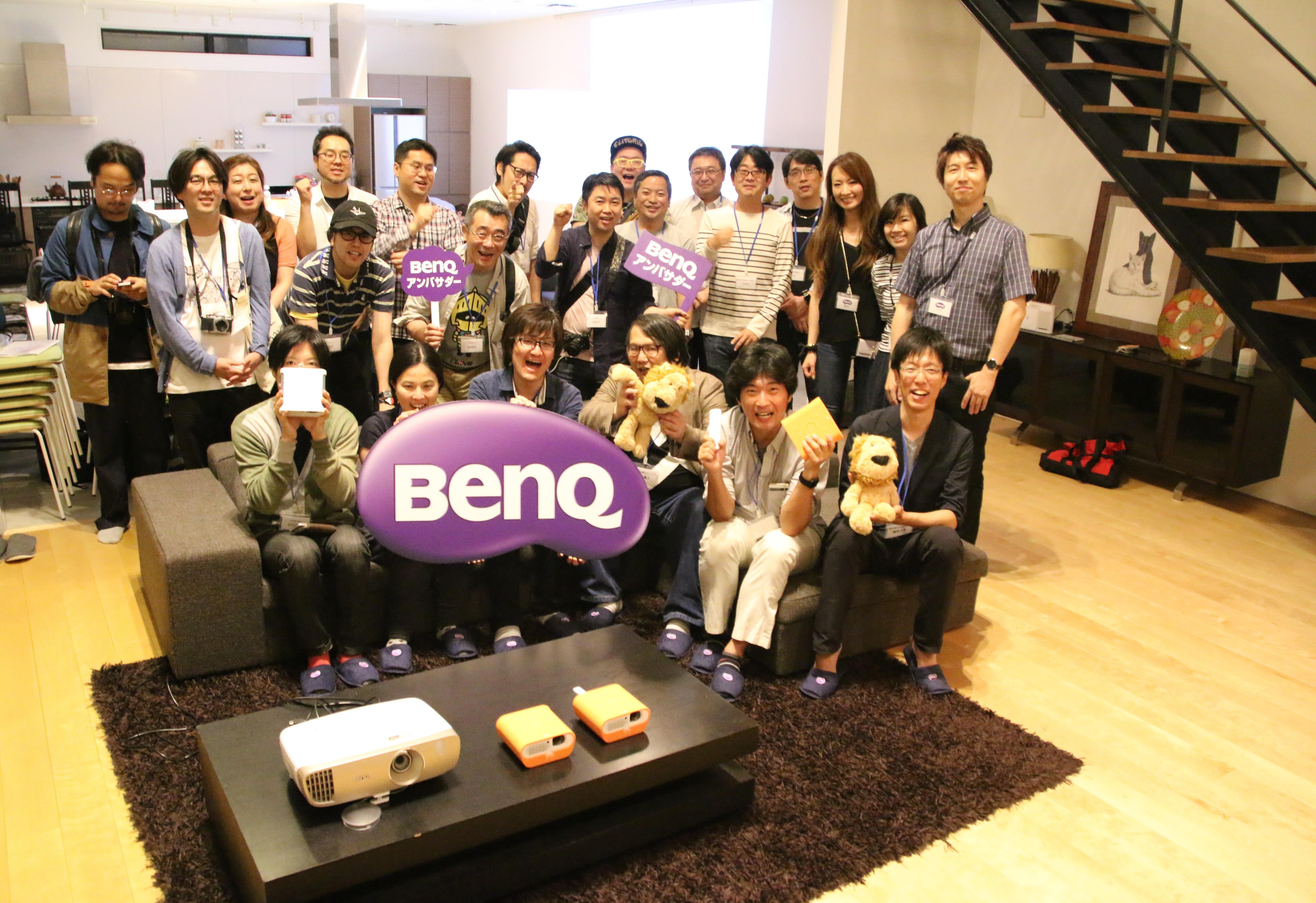 BenQアンバサダー活動報告 第4回BenQアンバサダーイベント『BenQ GS1 体験イベント』を開催しました。#BenQアンバサダー