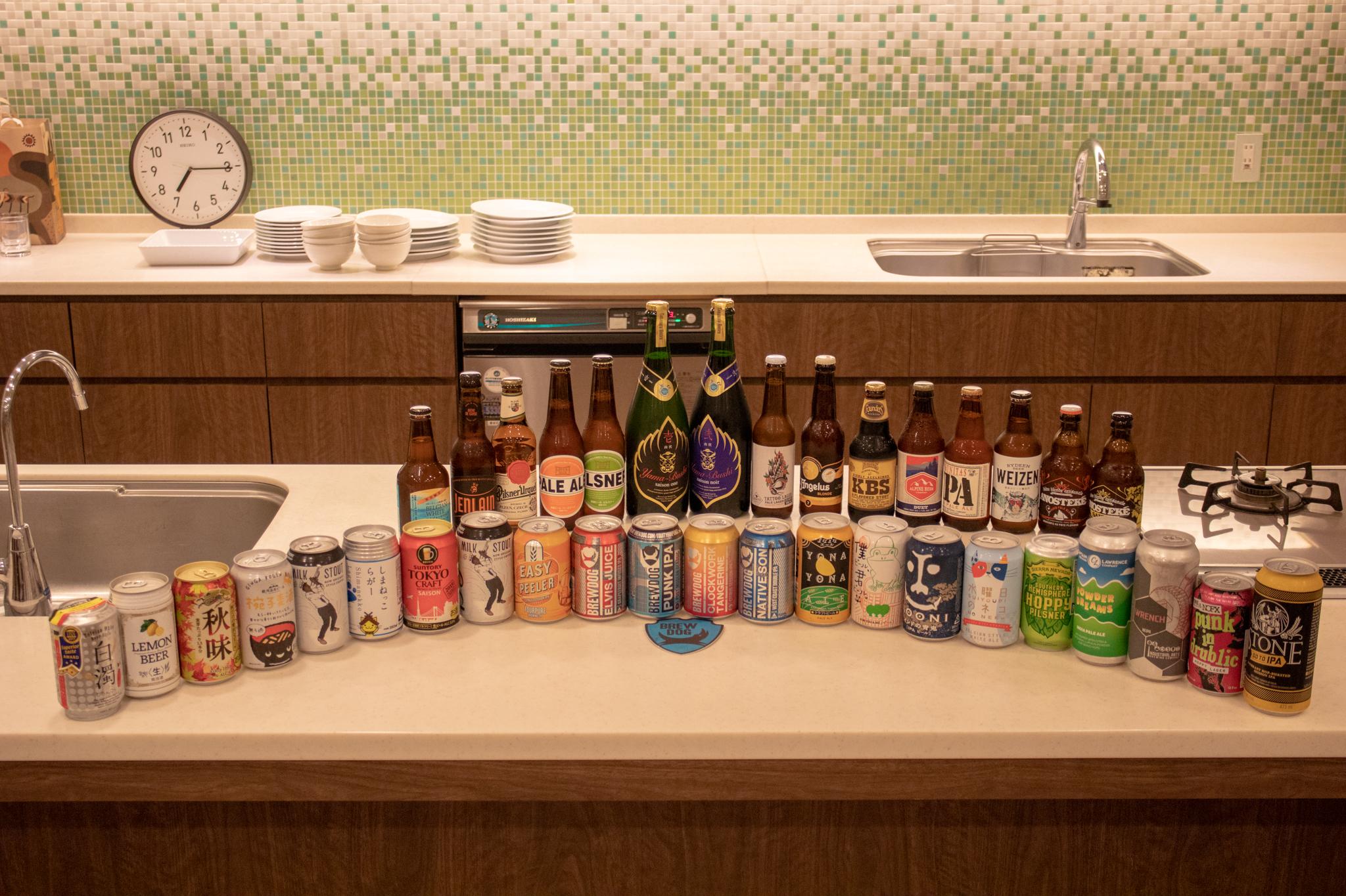 「ブロガーが○○を持ち寄って楽しく実体験レビューする会」 ビール編 を開催しました #みんなのビール #レビューズ