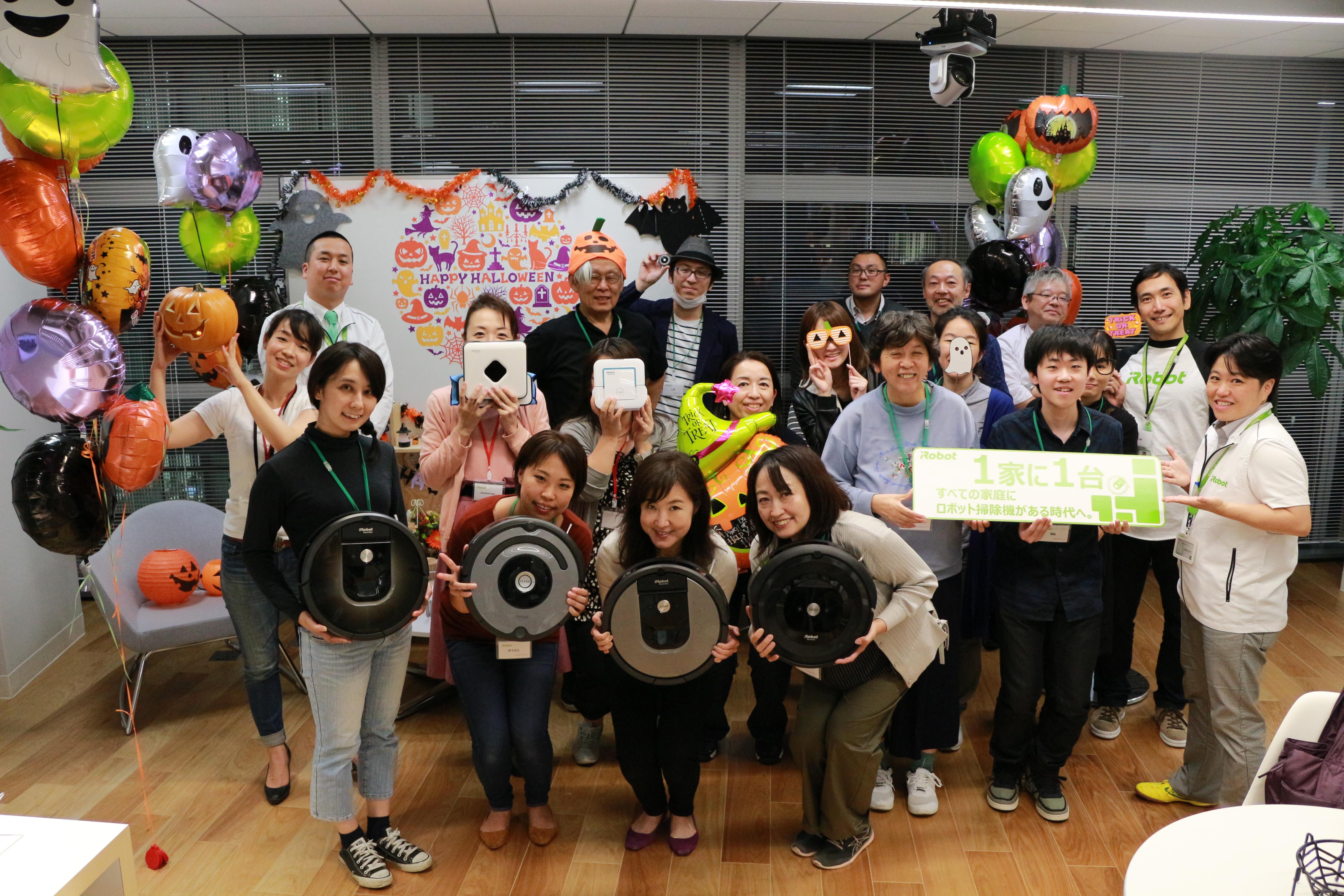 10月18日(木)アイロボット ファンプログラム「はじめてのルンバ」ミーティングを開催しました。
