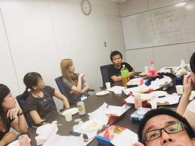 第1回「AMN English Club」活動報告